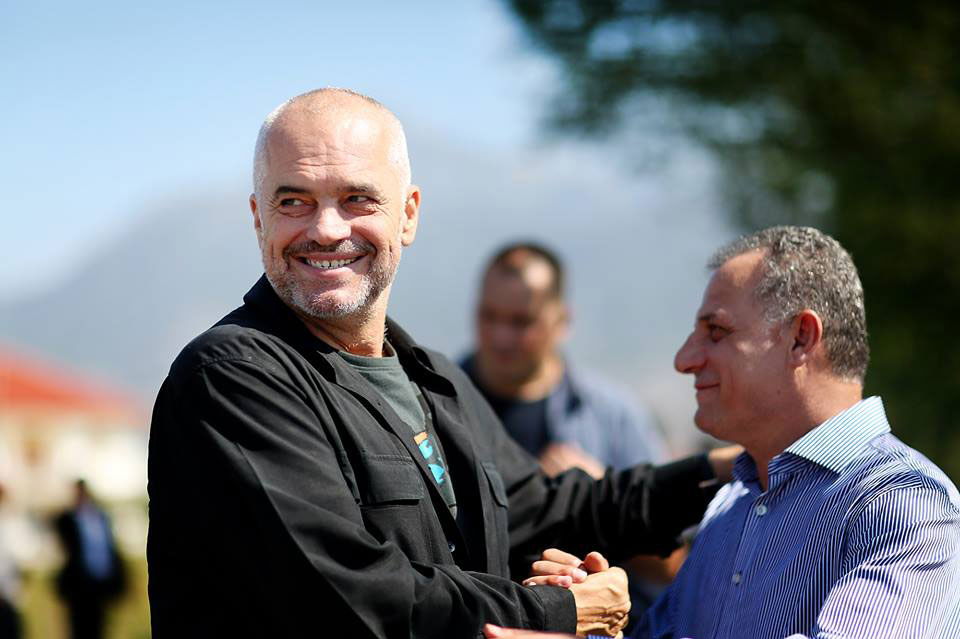Kryeministri Edi Rama në Gruemirë